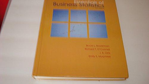9780073373683: Essentials of Business Statistics