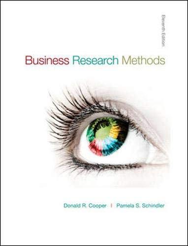 9780073373706: Business Research Methods (McGraw-Hill/Irwin Series in Operations and Decision Sciences)