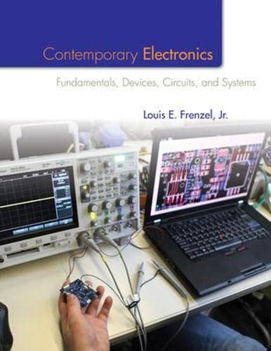 9780073373805: Contemporary Electronics: Fundamentals, Devices, Circuits, and Systems