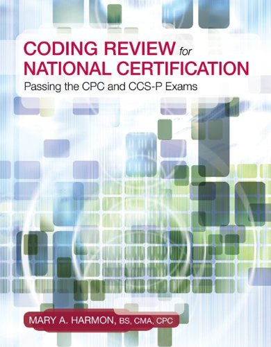 9780073373980: Coding Review for National Certification: Passing the CPC and CCS-P Exams