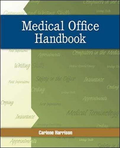 9780073374130: Medical Office Handbook