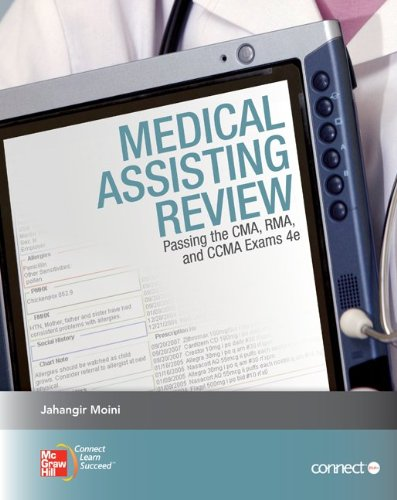 Medical Assisting Review: Passing the CMA, RMA,: Jahangir Moini