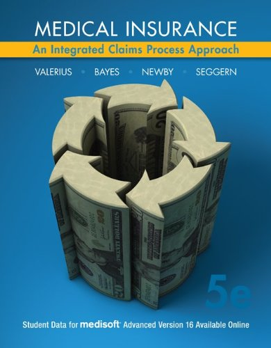 9780073374918: Medical Insurance: An Integrated Claims Process Approach