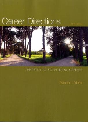 Career Directions: The Path to Your Ideal: Donna Yena