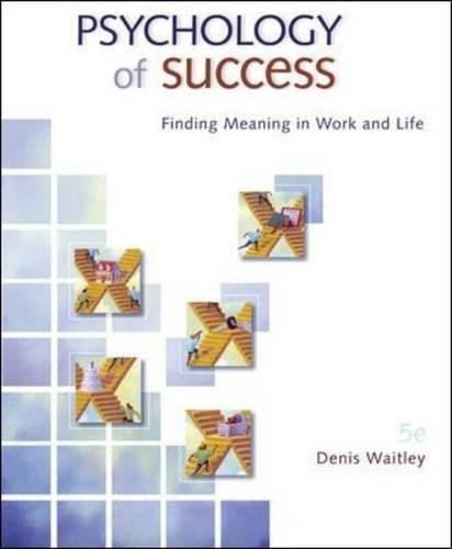 9780073375175: Psychology of Success