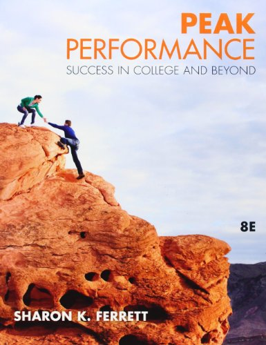 9780073375199: Peak Performance: Success in College and Beyond