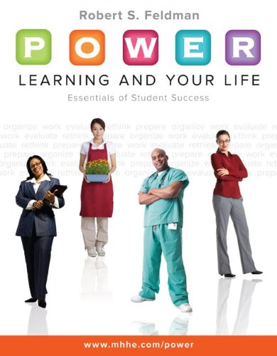 9780073375205: P.O.W.E.R. Learning and Your Life: Essentials of Student Success