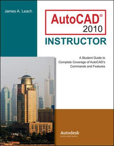 9780073375410: AutoCAD 2010 Instructor (McGraw-Hill Graphics)