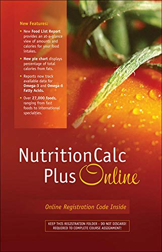 9780073375526: NutritionCalc Plus 3.0