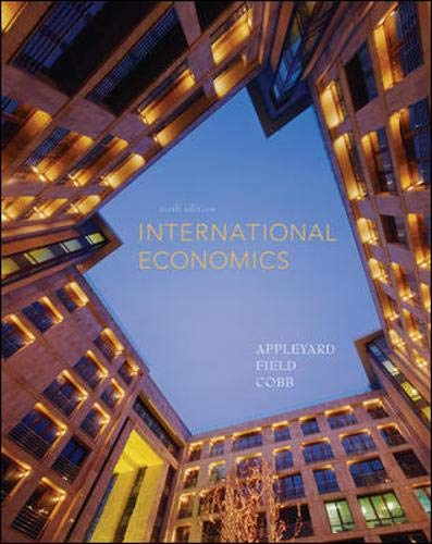 9780073375670: International Economics