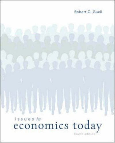 9780073375700: Issues in Economics Today