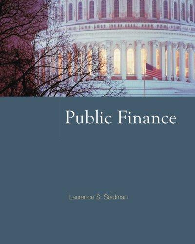 9780073375748: Public Finance (McGraw-Hill Series in Public Finance)