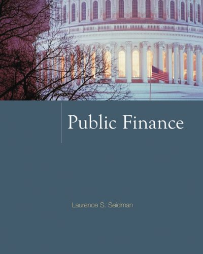 9780073375748: Public Finance (McGraw-Hill Series in Public Finance)