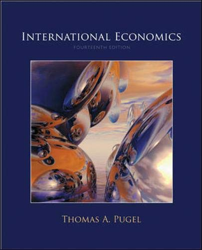 9780073375755: International Economics (Mcgraw-hill Series Economics)