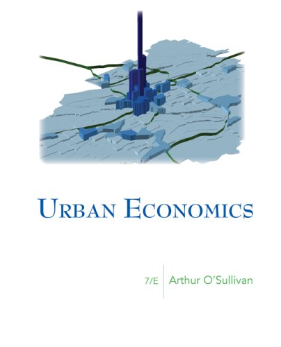 9780073375786: Urban Economics (McGraw-Hill Series in Urban Economics)