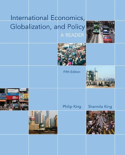 9780073375816: International Economics, Globalization, and Policy: A Reader (McGraw-Hill Economics)