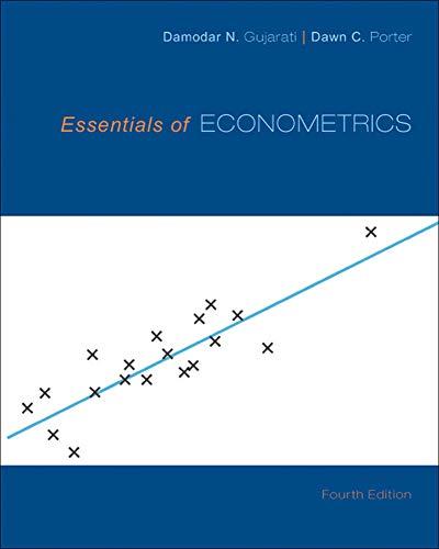 9780073375847: Essentials of Econometrics