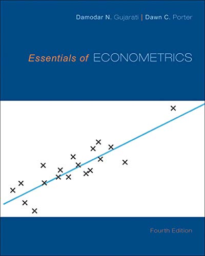 9780073375847: Essentials of Econometrics