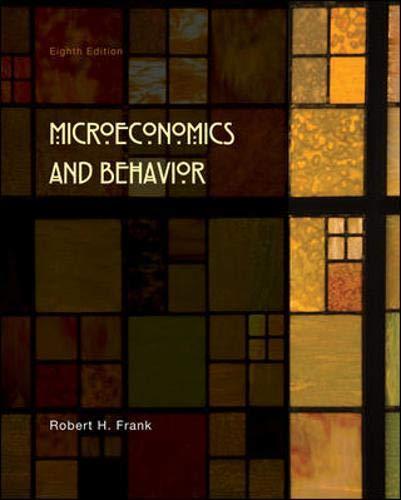 9780073375946: Microeconomics and Behavior