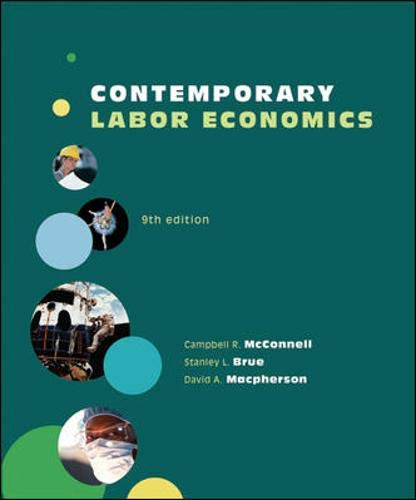 9780073375953: Contemporary Labor Economics