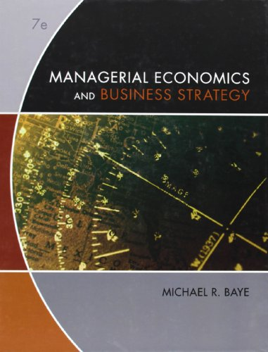 9780073375960: Managerial Economics & Business Strategy