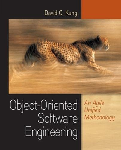 9780073376257: Object-Oriented Software Engineering: An Agile Unified Methodology (Irwin Computer Science)