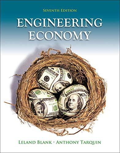 9780073376301: Engineering Economy (Irwin Industrial Engineering)