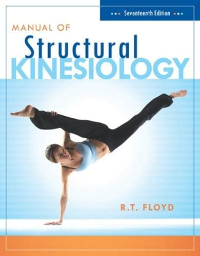 9780073376431: Manual of Structural Kinesiology