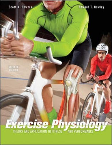 9780073376479: Exercise Physiology: Theory and Application to Fitness and Performance