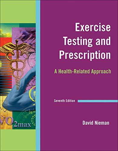 9780073376486: Exercise Testing & Prescription