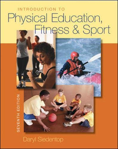 9780073376516: Introduction to Physical Education, Fitness, and Sport