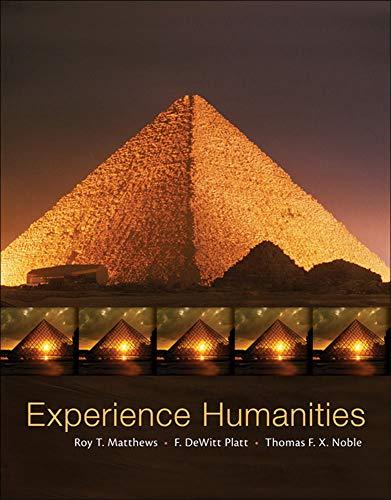 Experience Humanities, Complete: Noble, Thomas, Platt,