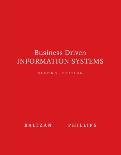 9780073376738: Business Driven Information Systems