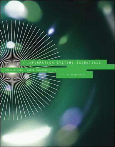 9780073376752: Information Systems Essentials