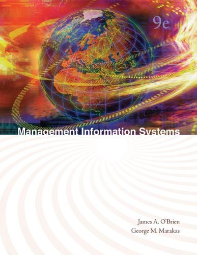 9780073376769: Management Information Systems