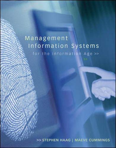 9780073376783: Management Information Systems for the Information Age