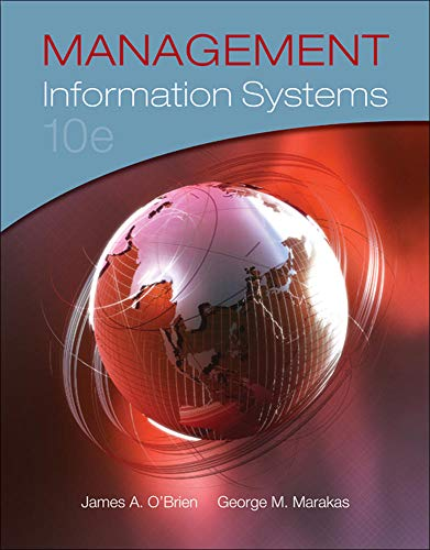 9780073376813: Management Information Systems