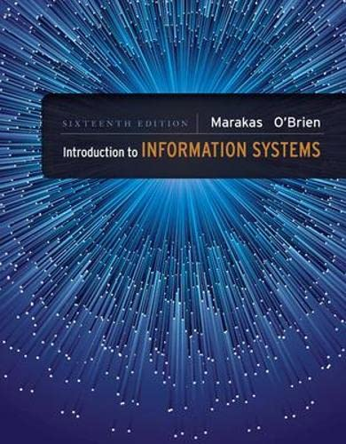9780073376882: Introduction to Information Systems - Loose Leaf