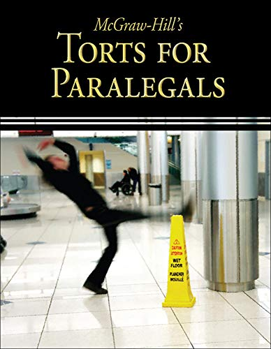 9780073376936: McGraw-Hill's Torts for Paralegals