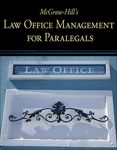 9780073376943: McGraw-Hill's Law Office Management for Paralegals