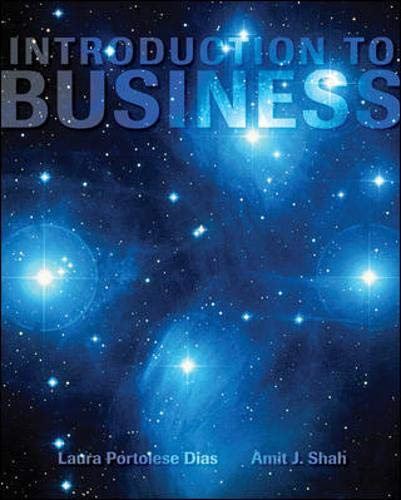 Introduction to Business: Amit J. Shah;