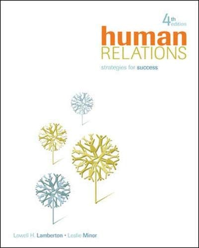 9780073377049: Human Relations: Strategies for Success