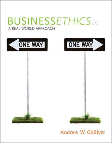 9780073377100: Business Ethics