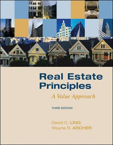 9780073377322: Real Estate Principles: A Value Approach (The Mcgraw-hill/Irwin Series in Finance, Insurance, and Real Estate)