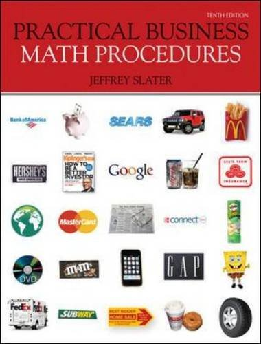 9780073377537: Practical Business Math Procedures