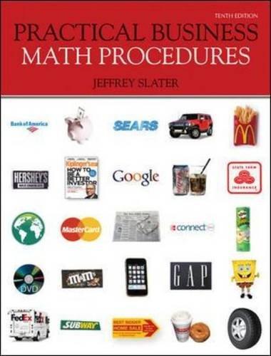 9780073377537: Practical Business Math Procedures