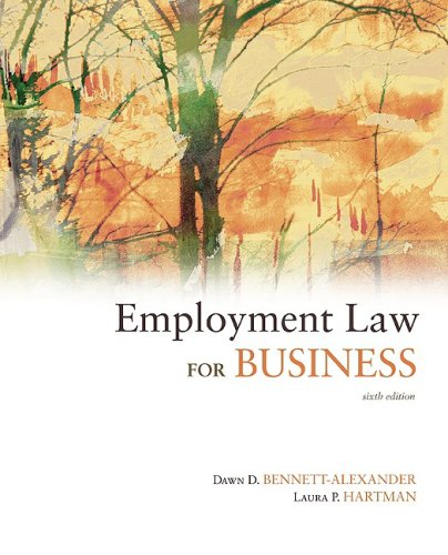 9780073377636: Employment Law for Business