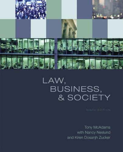9780073377650: Law, Business, and Society