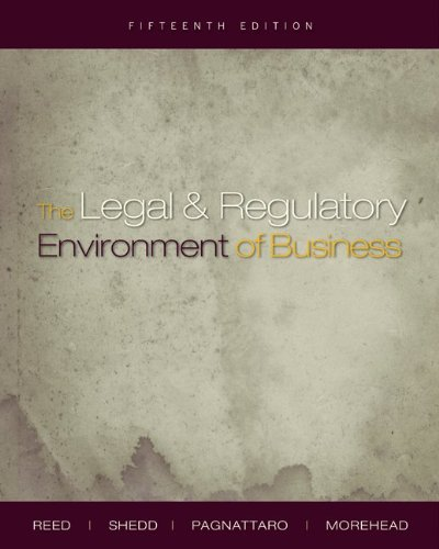 9780073377667: The Legal and Regulatory Environment of Business