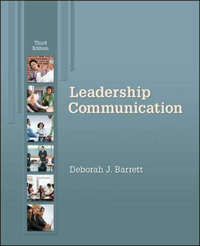 9780073377773: Leadership Communication